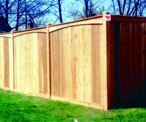 Wood traditional pix template for Colonial fence designs